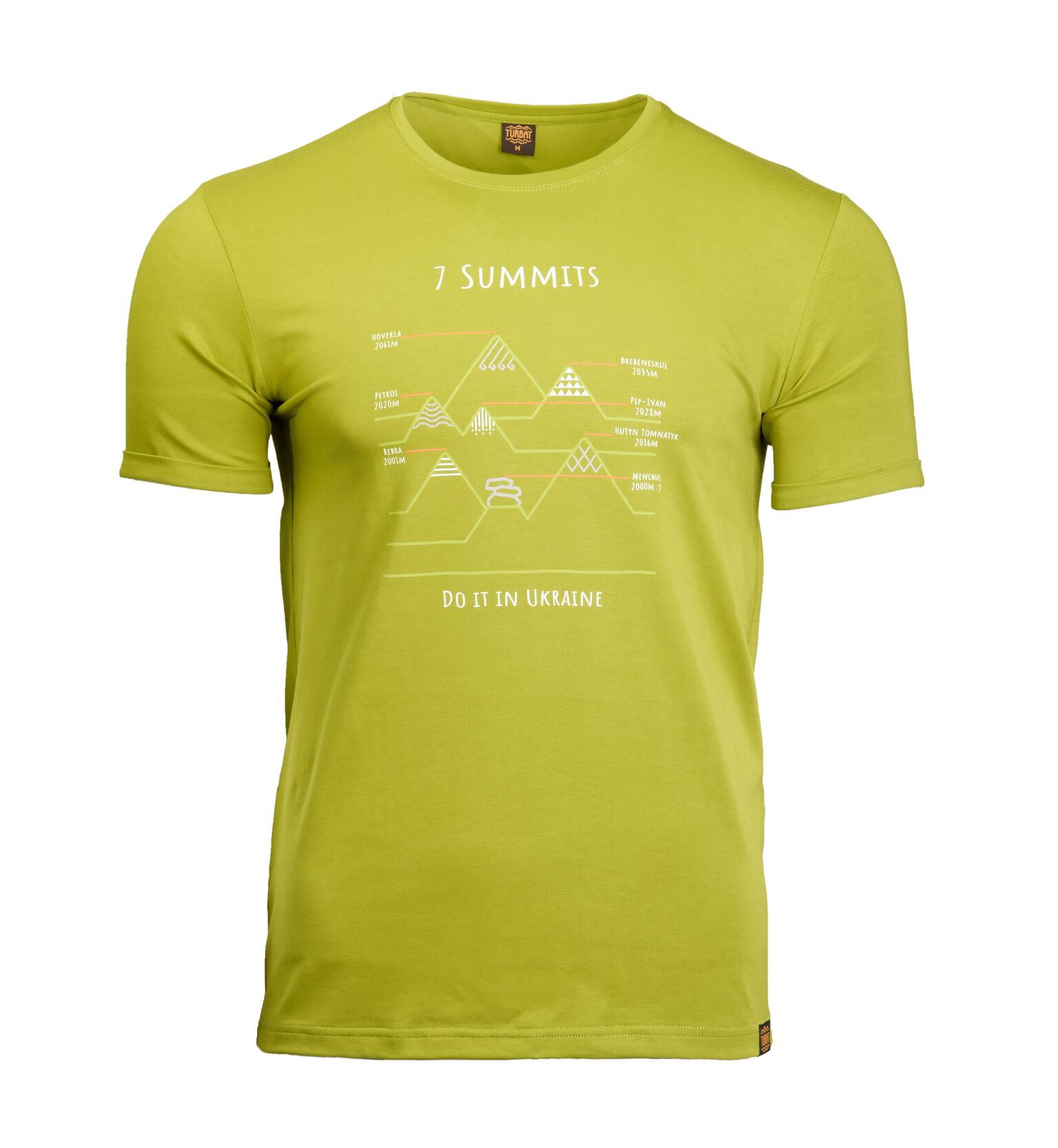 Turbat 7 Summits men's T-shirt
